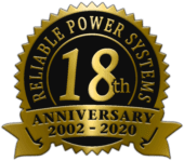 Reliable Power Systems 18th Anniversary 2002-2020